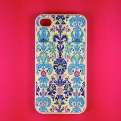 Iphone 4 Case - Modern Damask Iphone 4s Case, Iphone Case, Iphone 4 Cover