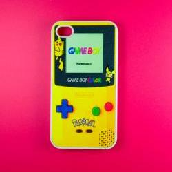 Iphone 4 Case - Pokemon Gameboy Iphone 4s Case, Iphone Case, Iphone 4 Cover