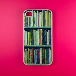 Bookshelf Iphone 4 Case - Bookshelf Iphone 4s Case, Iphone Case, Iphone 4 Cover